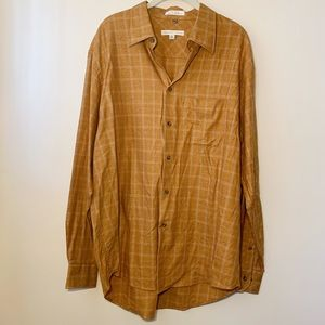 Geoffrey Beene | Plaid Button-Down, XL